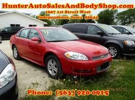 2012 Chevrolet Impala Red 4 Door Car for Sale