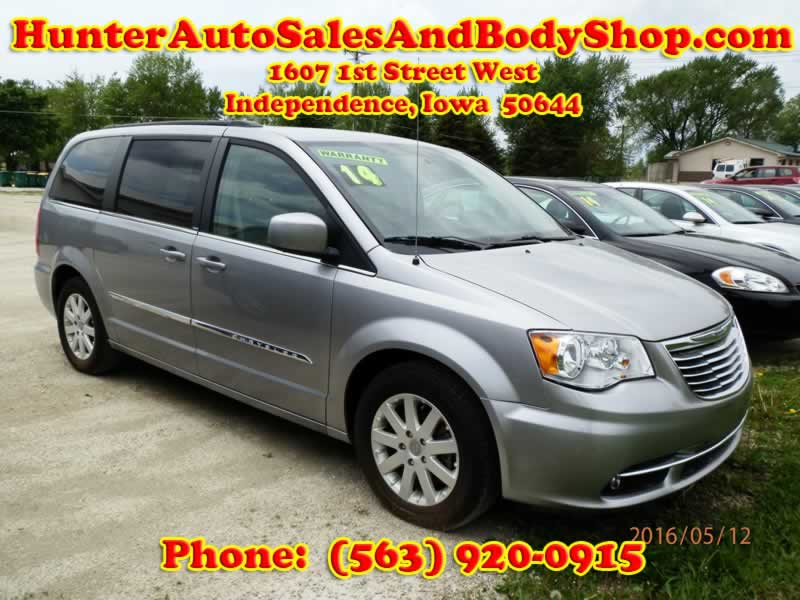 2014 Dodge Grand Caravan SXT Silver Van for Sale