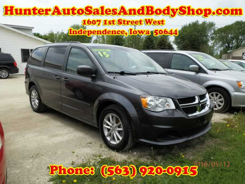 2015 Dodge Grand Caravan SXT Black Van for Sale